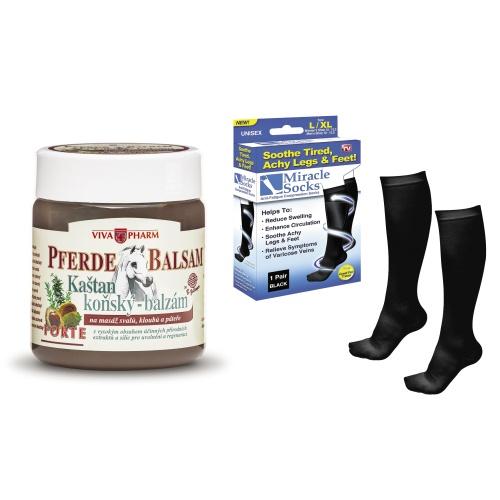 Kestenov Pferde gel i 2 para preventivnih carapa za vene BioOrto.hr