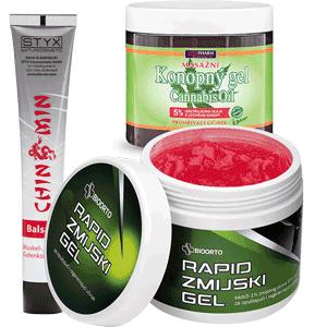 Biljni gelovi protiv bolova